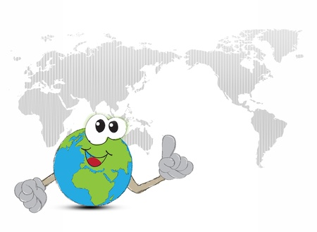 Earth Hand drawn Stock Photo - 17871476