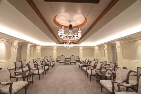 luxury hotel room: Reception room in a hotel Editorial