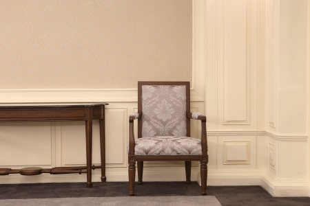 Concept of success with luxurious chair Stock Photo - 20758310
