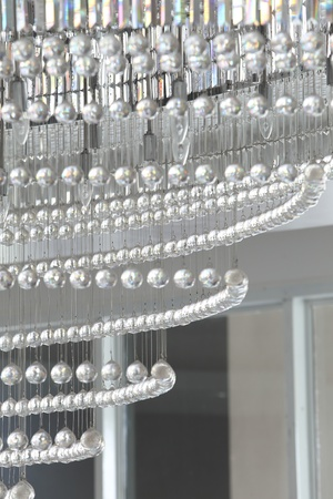 Crystal of modern Chandelier photo