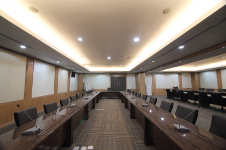 Business meeting room or boardroom interiors Stock Photo - 20738595