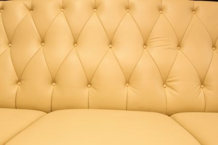 Yellow classic leather upholster pattern photo