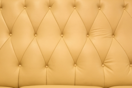 Yellow classic leather upholster pattern Stock Photo - 20959475