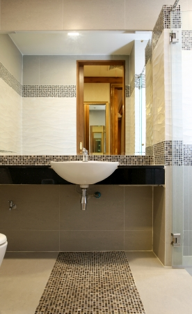 interior beautiful bathroom Stock Photo - 20959481