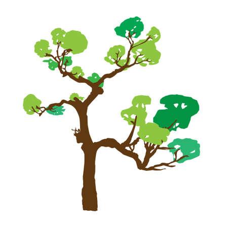wallpapper: Tree, vector illustration