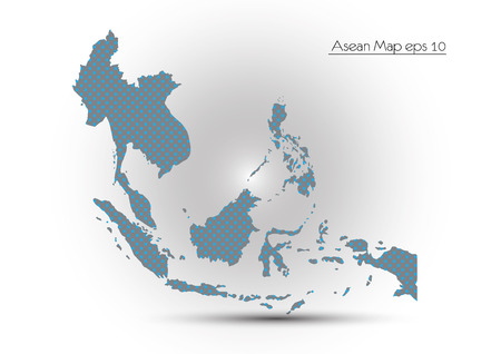 Asean Map Vector