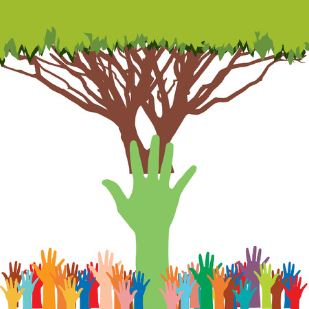 save environment save tree Vector