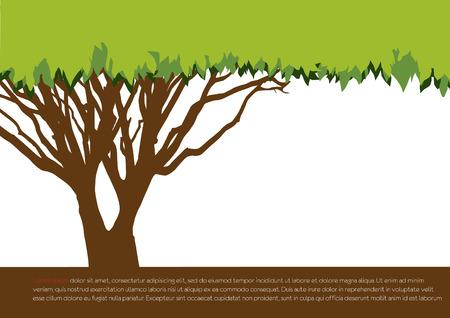 save the Earth tree idea Vector