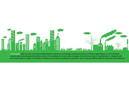 green earth- ecology concept Vector