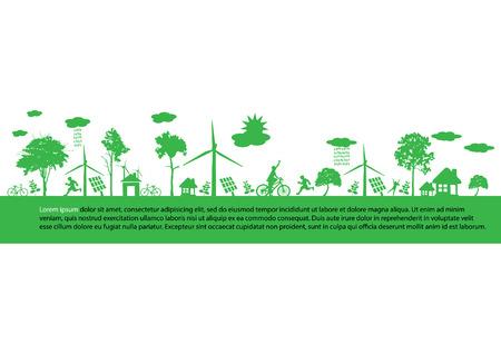 desarrollo sustentable: tierra verde - concepto de desarrollo sostenible