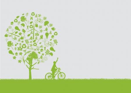ecology concept   Illustration