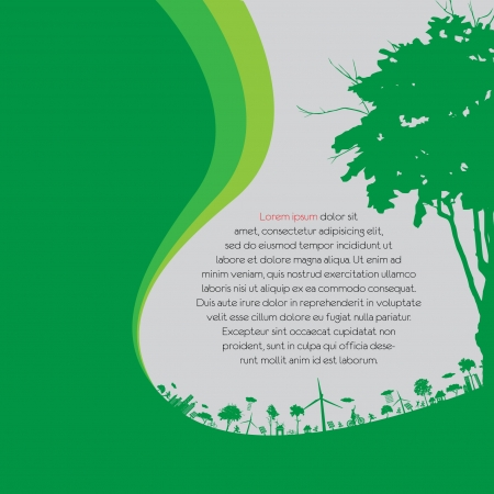 save the earth: ecology concept - save earth Illustration