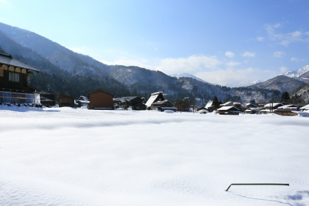 gifu:  Historic Village of Shirakawago, Gifu, Japan