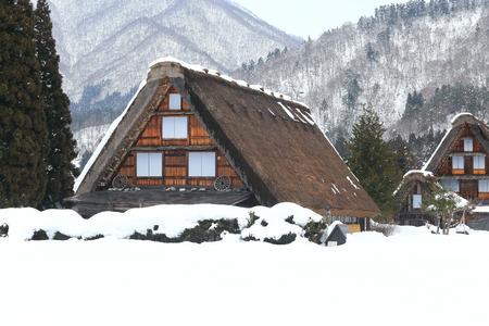 Cottage at Gassho-zukuri Village Shirakawago japan