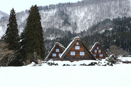 shirakawa go: Cottage at Gassho-zukuri Village Shirakawago