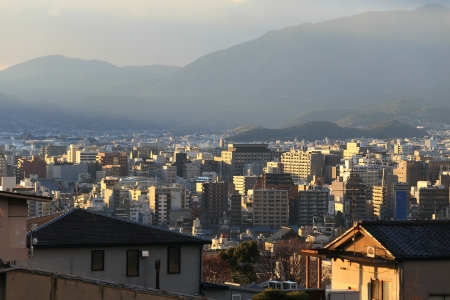 Kyoto, Japan - city in the region of Kansai photo
