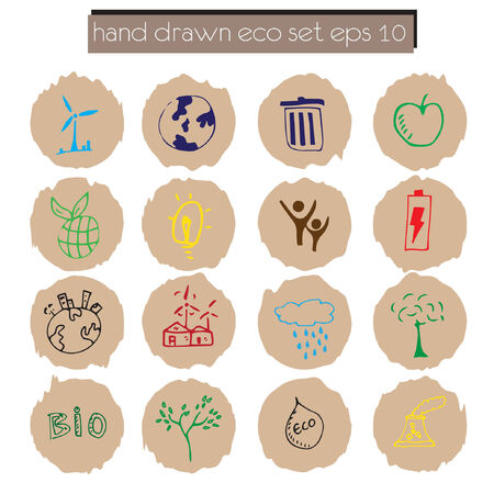 set of go green icon Vector