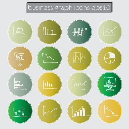 sketched icons: iconos tabla de conjunto de datos, el an�lisis de los datos de negocio concepto, estilo bosquejado