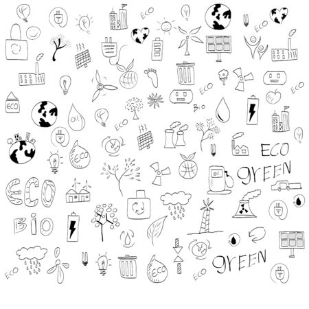 Vector hand drawn design elements  Vector
