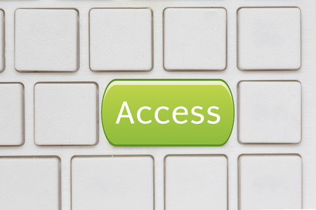 Green World key on a computer keyboard with photo