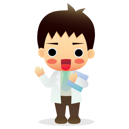 physiotherapist:  cute little male doctor