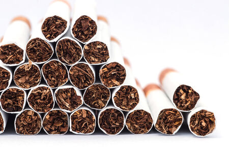 abstain: Heap of cigarettes