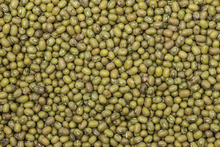 Green bean or mung bean background. Agriculture product, food photo
