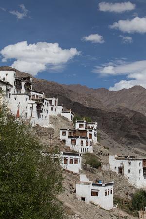 gelugpa: Thiksey Monastery, Leh, Ladakh, India Stock Photo