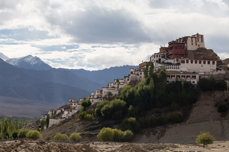 gompa: Thiksey Monastery, Leh, Ladakh, India Stock Photo