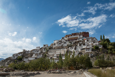 Thiksey Monastery,Leh Ladakh photo