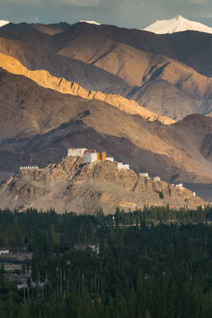 Matho Monastery is a Buddhist monastery in Ladakh, India photo