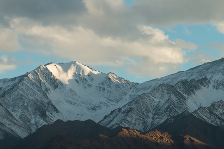 leh: Snow Mountain Range, Leh India