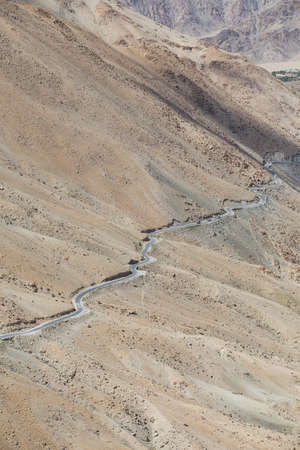 himachal pradesh: Himalayas along Manali-Leh highway. Himachal Pradesh, India Stock Photo