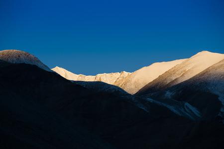 Landscape near Pangong Lake, Ladakh photo
