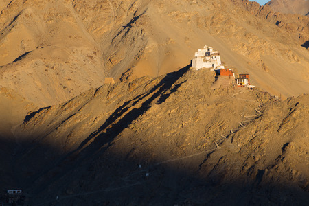Namgyal Tsemo Monastery,Leh Ladakh photo
