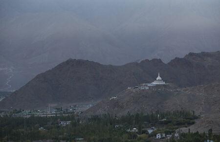 reincarnation: Shanti Stupa, Leh, Ladakh, India