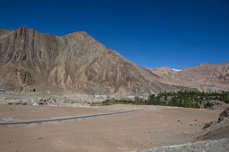 leh: Mountain range, Leh, Ladakh, India Stock Photo