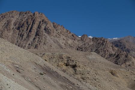 ladakh: Mountain range, Leh, Ladakh, India Stock Photo
