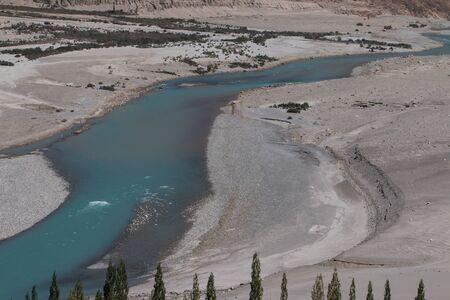 ladakh: Nubra Valley in Ladakh Stock Photo