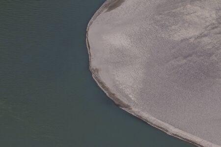 confluence: Confluence of Zanskar and Indus rivers - Leh, Ladakh, India