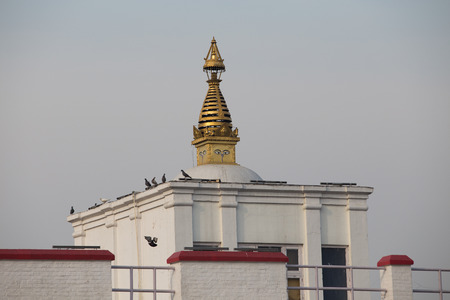 vihar: Maya Devi temple, the birth place of Gautama Buddha, in Lumbini, Nepal. A UNESCO world heritage site