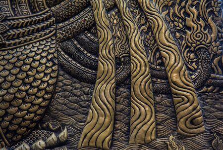 gold metal: Gold metal pattern backgrond (vintage collection)
