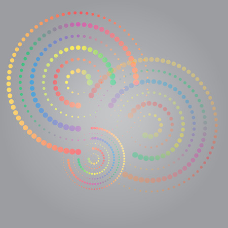 abstract colorful swirly illustration