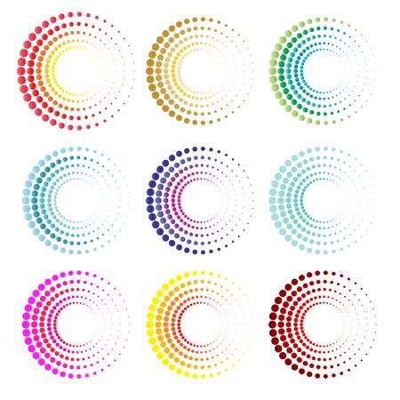 espiral: S�mbolo de los c�rculos modernos y el icono