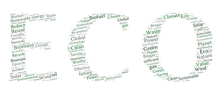 word collage: Ecology Earth concept word collage