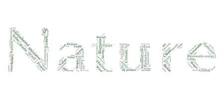 sufficient: Ecology Earth concept word collage
