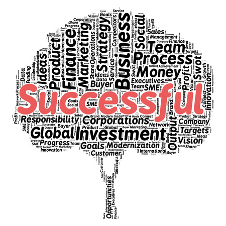 tree service business: Business & finance related word cloud background