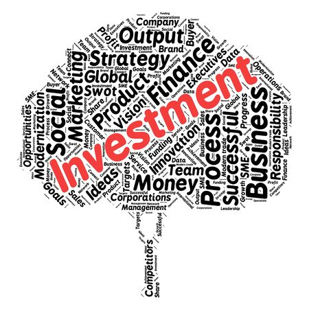 tree services company: Business & finance related word cloud background