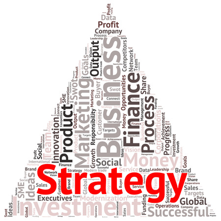 targets: Business & finance related word cloud background