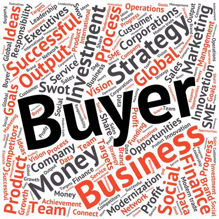 related: Business & finance related word cloud background